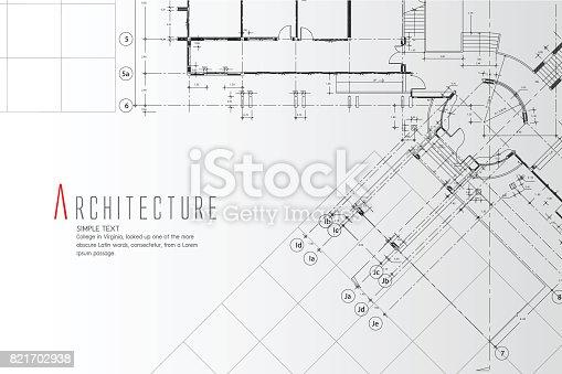 istock Architecture Background. 821702938