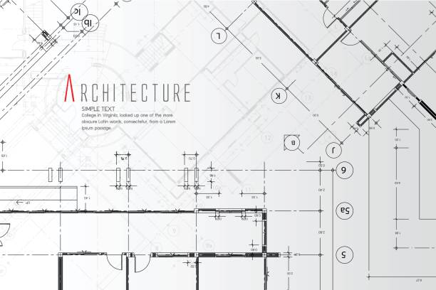 architecture background. - architecture borders stock illustrations