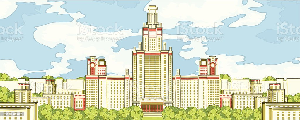 Architecture group royalty-free architecture group stock vector art & more images of architectural column