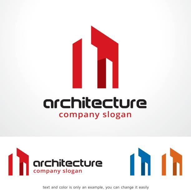 illustrations, cliparts, dessins animés et icônes de design concept, création de symbole, icône du vecteur, emblème, design architecture symbole modèle - logos immobilier