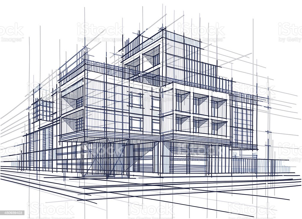 Architecture stock vector art more images of for Architecture and design
