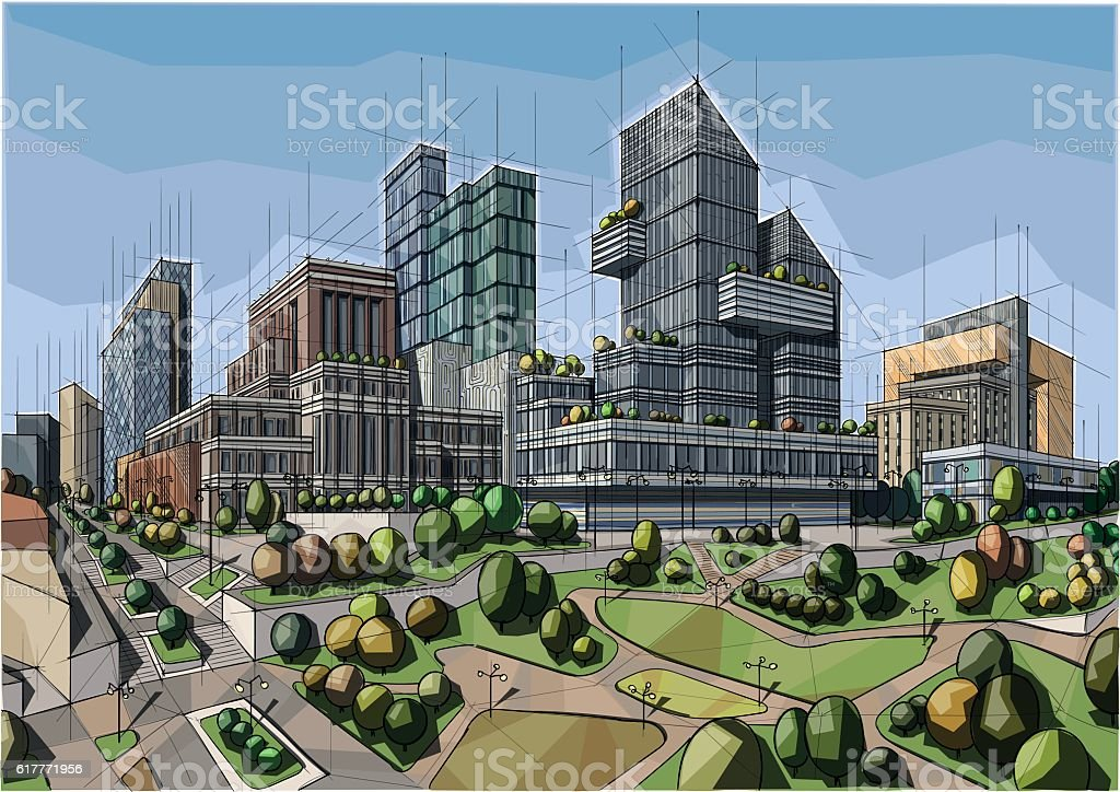 Architecture - Royalty-free Architecture stock vector