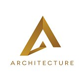 Architrcture design, isolated vector illustration
