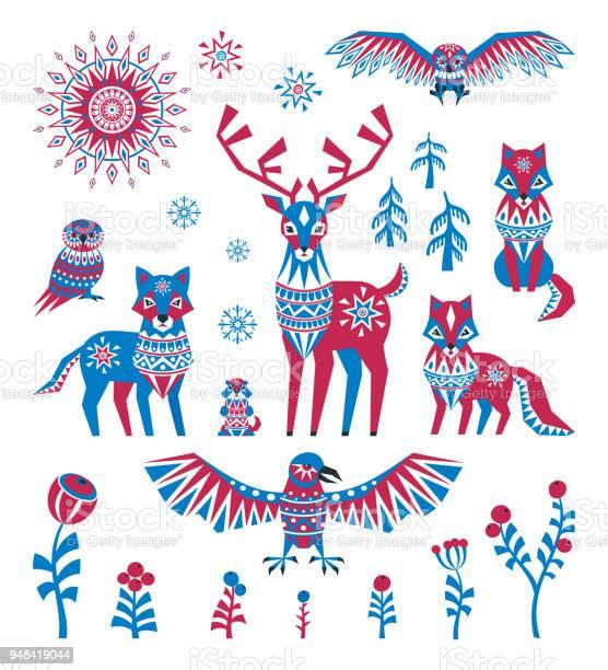 Arctic animals set in ethnic style vector id948419044?b=1&k=6&m=948419044&s=612x612&h=de7skz839km9zcngttd5rdt9oocdszxv18gwkgk7ija=
