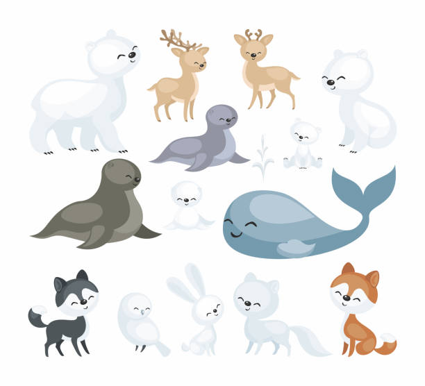Royalty Free Tundra Clip Art, Vector Images ...