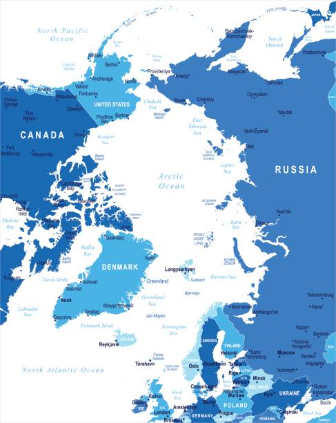 Royalty Free Map Of Norway Cities Clip Art, Vector Images ...