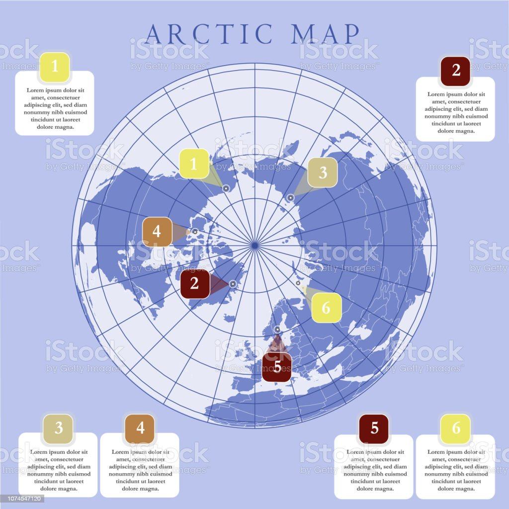 Australia Map Grid.Arctic Map With Countries Boundary Grid And Label Arctic Regions Of