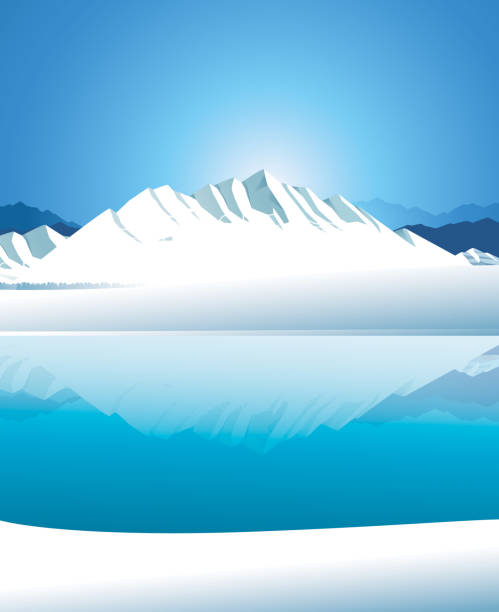 arctic - antarctica travel stock illustrations, clip art, cartoons, & icons