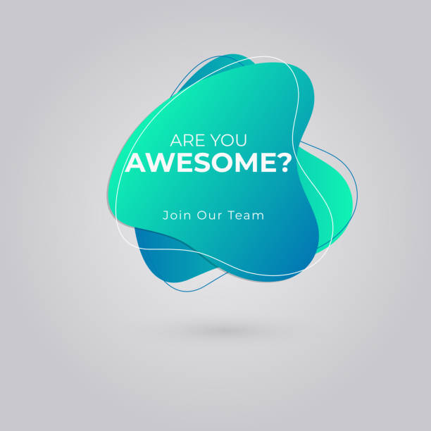 Are You Awesome? Join our team for Job vacancy, We're hiring concept. Are You Awesome? Join our team for Job vacancy, We're hiring concept. you re awesome stock illustrations