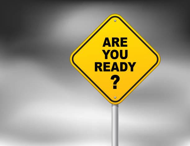 Sind Sie bereit? – Vektorgrafik
