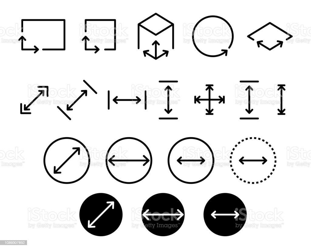 area icon stock illustration download image now istock https www istockphoto com vector area icon gm1089307852 292214891