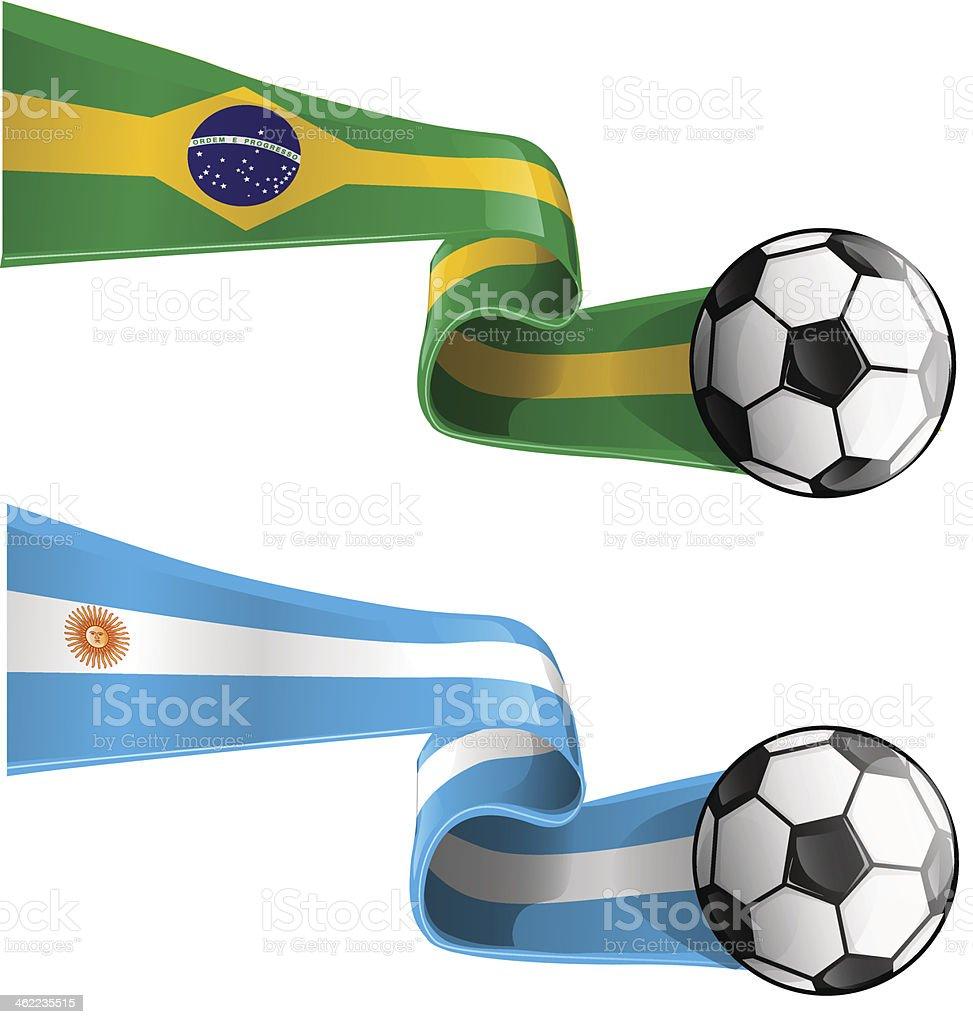argentina & brazil flag royalty-free argentina brazil flag stock vector art & more images of 2014