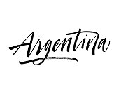 Argentina card.
