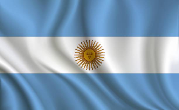 argentina flag background - argentina flag stock illustrations, clip art, cartoons, & icons