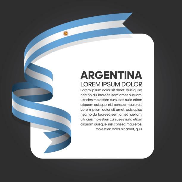 illustrations, cliparts, dessins animés et icônes de fond de drapeau argentine - argentine