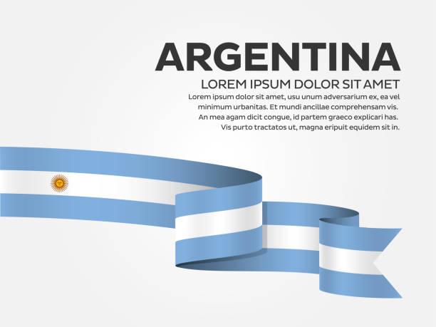 illustrations, cliparts, dessins animés et icônes de drapeau de l'argentine sur un fond blanc - argentine