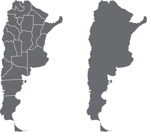 illustrations, cliparts, dessins animés et icônes de argentina map - argentine