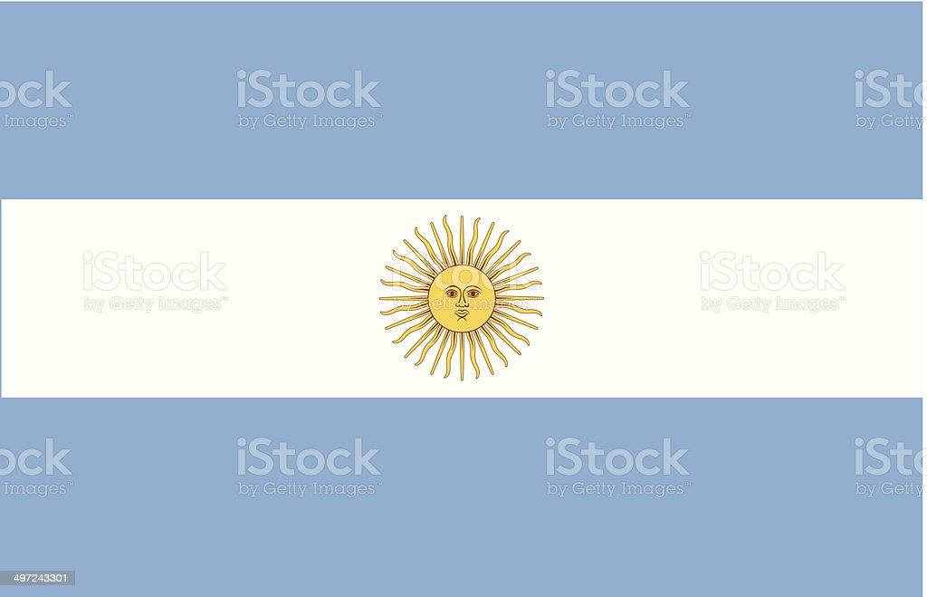 Argentina usa vector vector art illustration