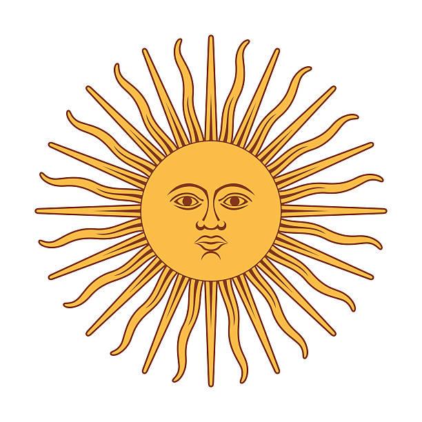 illustrations, cliparts, dessins animés et icônes de argentna soleil - argentine