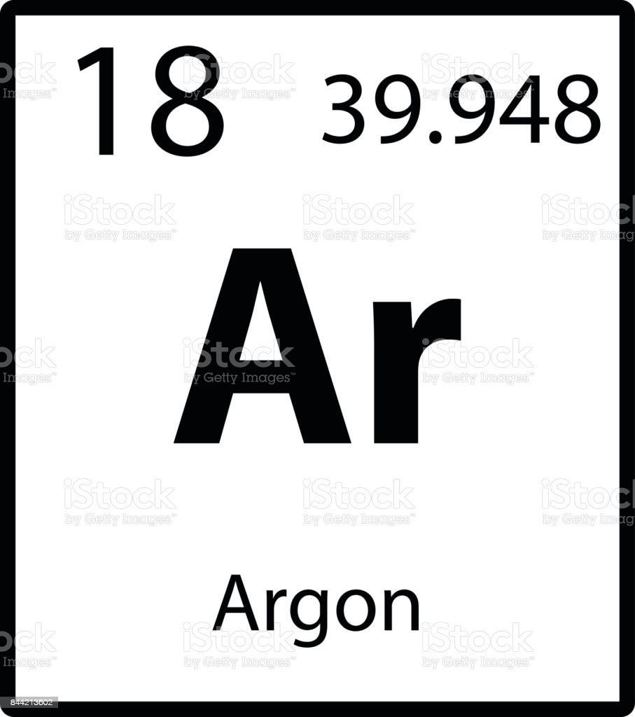 Argon periodic table element color icon on white background vector argon periodic table element color icon on white background vector royalty free stock vector art gamestrikefo Choice Image