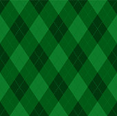 istock Argyle Christmas seamless vector pattern 1190135134