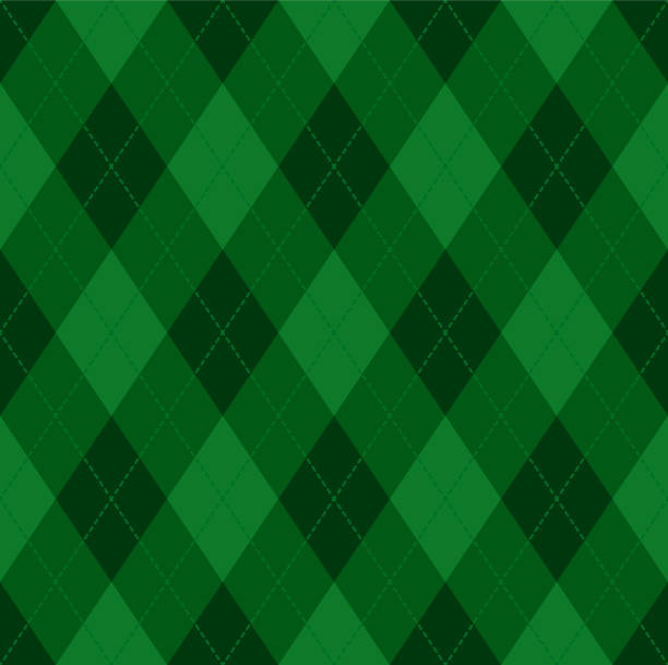 Argyle Christmas seamless vector pattern Seamless vivid geometric background for fabric, textile, men clothing, wrapping paper. Backdrop Little Gentleman party invite card tartan pattern stock illustrations