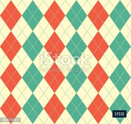 istock Argyle pattern 504712417
