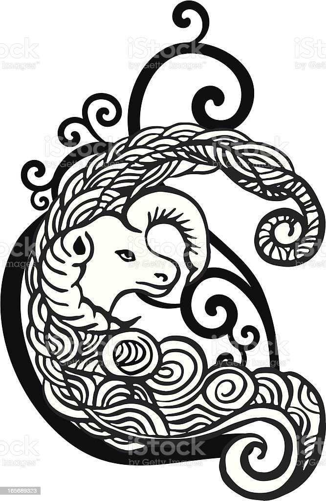Aries royalty-free aries stock vector art & more images of animal