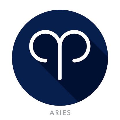 Aries Zodiac Icon