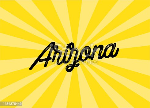 Arizona Lettering Design