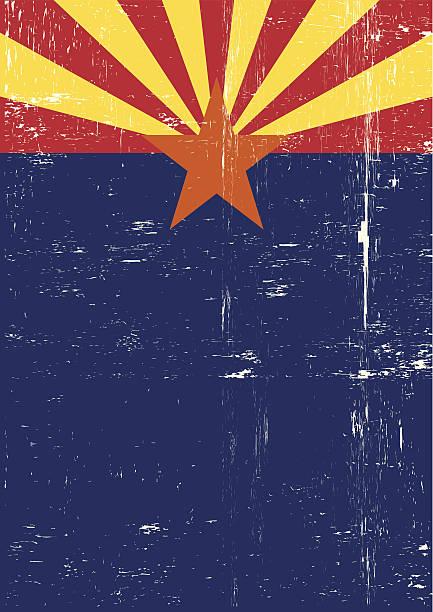 Arizona poster vector art illustration