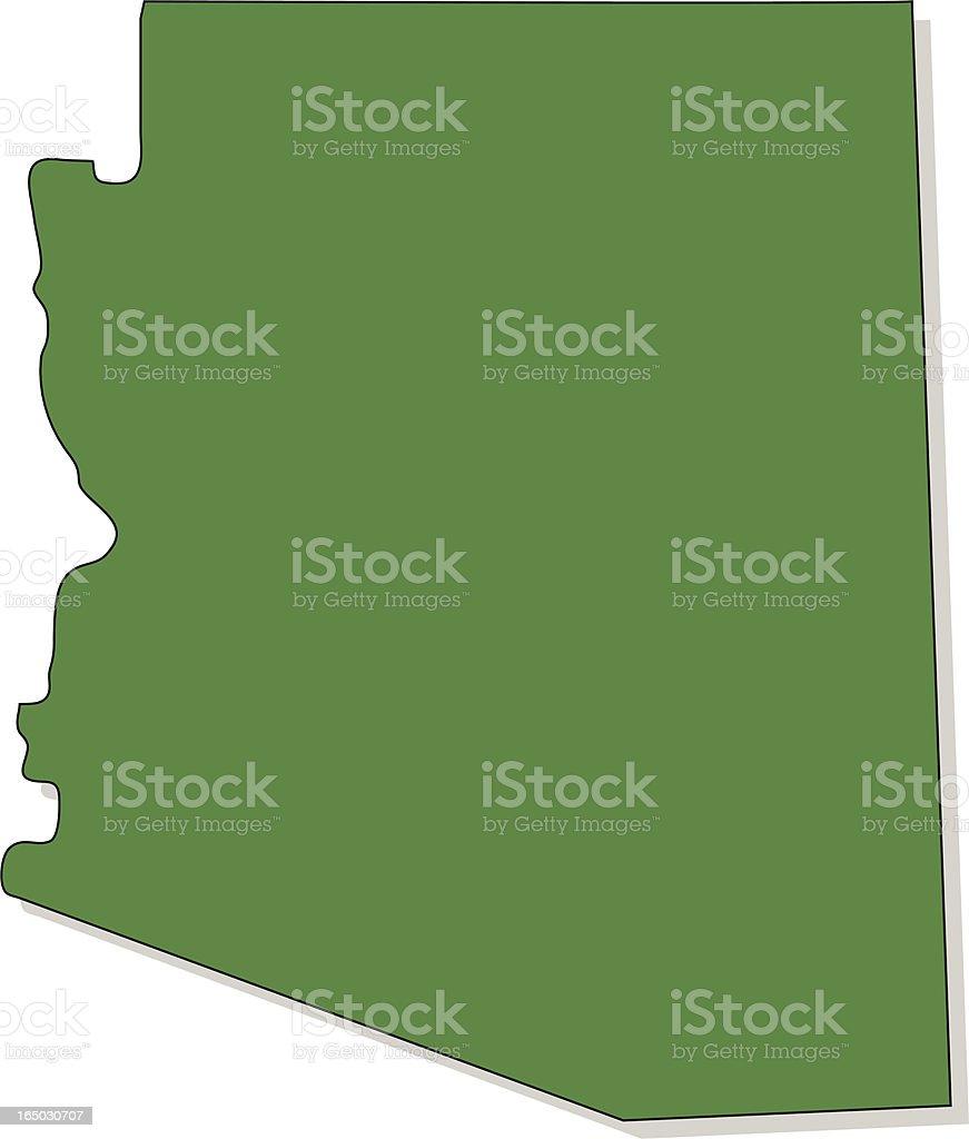 Arizona royalty-free stock vector art