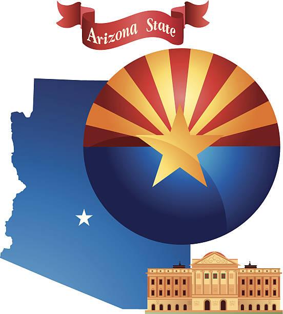 Arizona vector art illustration
