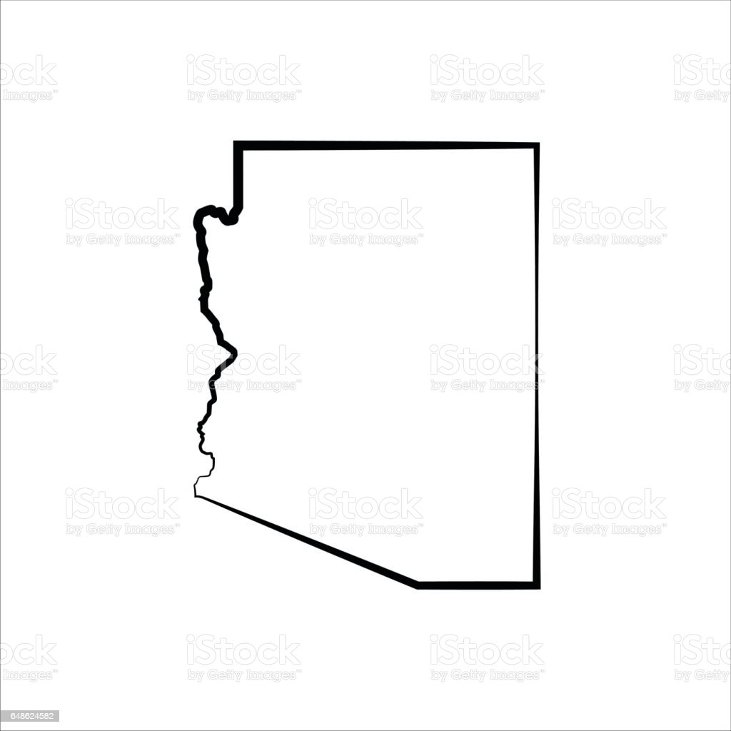 royalty free black and white arizona clip art vector images rh istockphoto com arizona state clip art arizona flag clip art