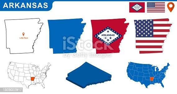 istock Arkansas 1323022917