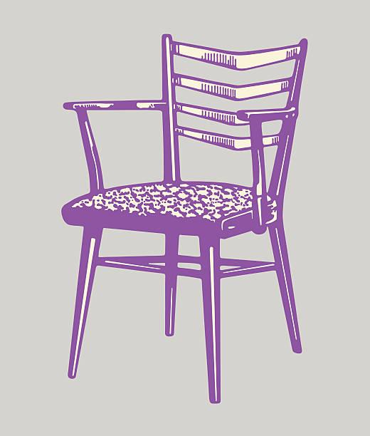 sessel - stuhllehnen stock-grafiken, -clipart, -cartoons und -symbole