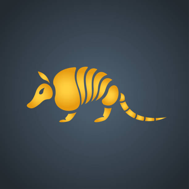 Armadillo symbol icon design, vector illustration vector art illustration