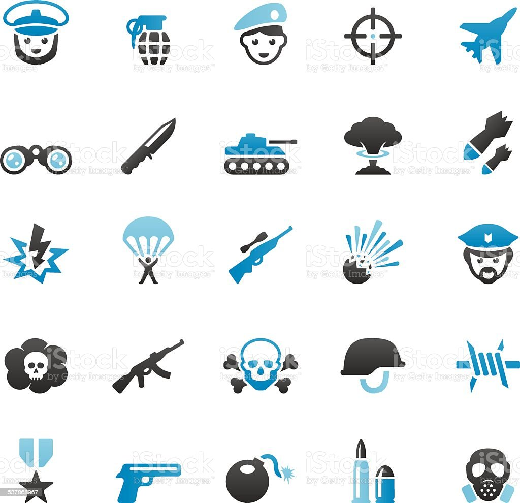 Armed Forces vector art illustration