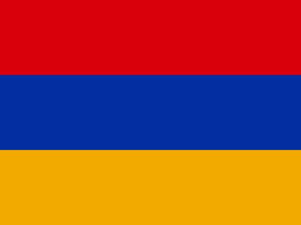 Armenia flag Armenia national flag armenia country stock illustrations