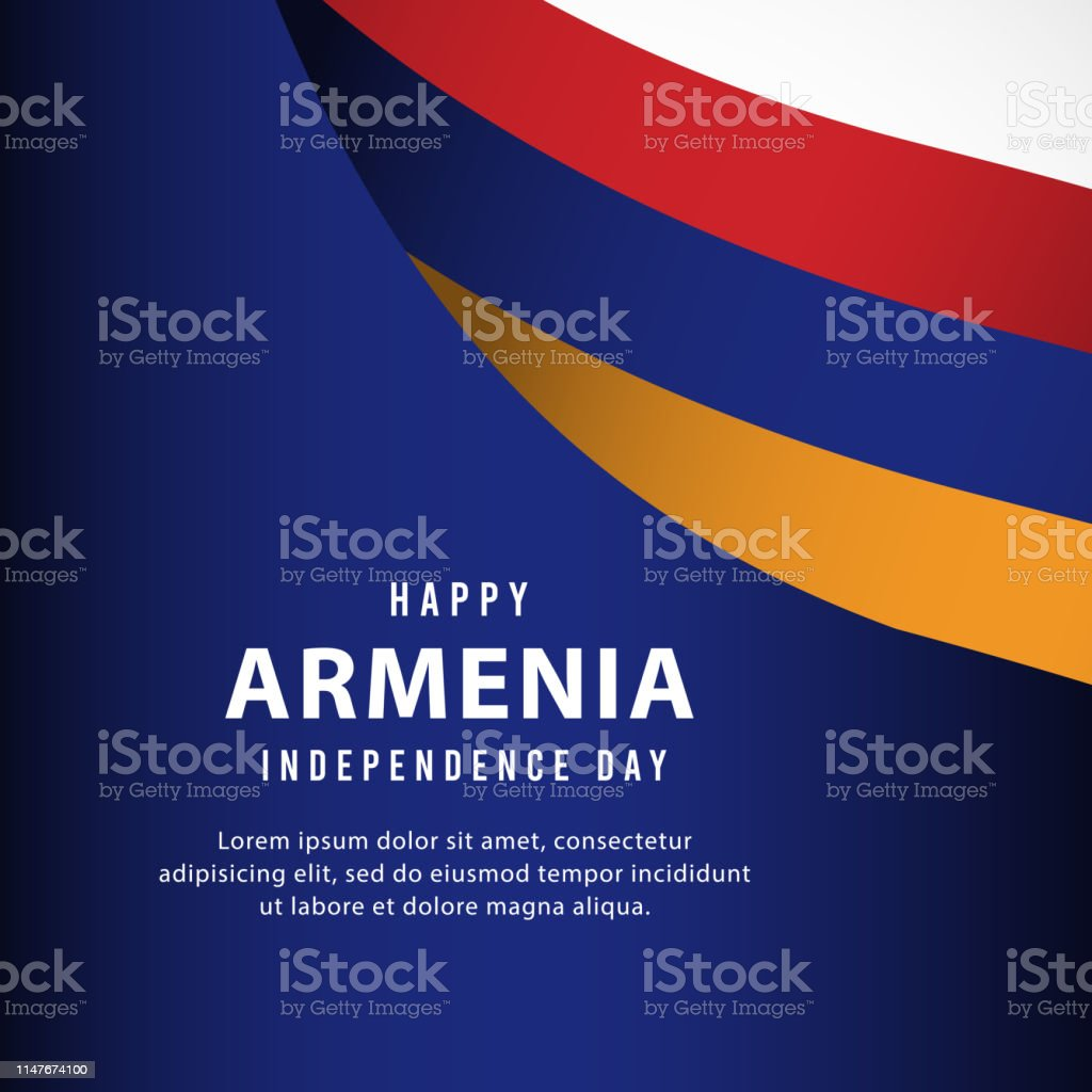 armenia, independence, day, happy, flag, national, background,...