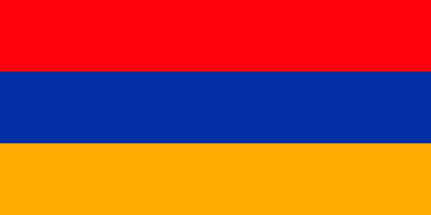 Armenia vector flag. Yerevan Armenia vector flag. Yerevan armenia country stock illustrations