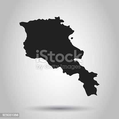 Armenia vector map black icon on white background stock vector art armenia vector map black icon on white background stock vector art more images of armenia country 925051056 istock gumiabroncs Images