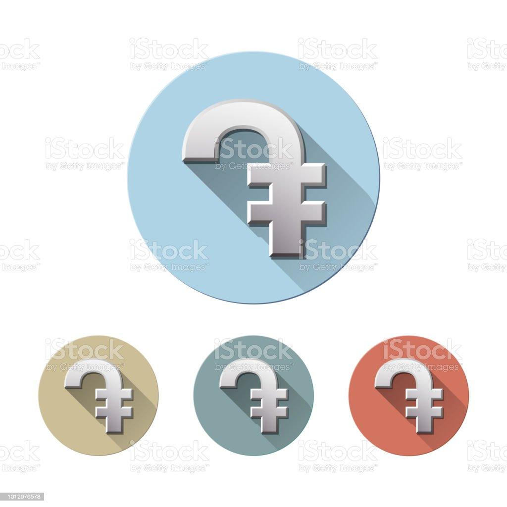 Armenian dram currency symbol
