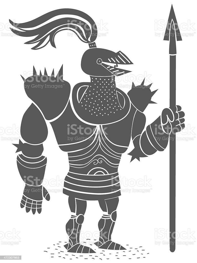 armored lancer royalty-free armored lancer stock vector art & more images of adult