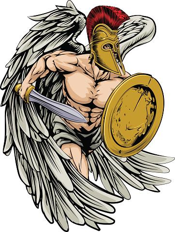 Armoured angel