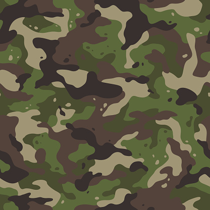 Army Camouflage Stock Illustration - Download Image Now ...