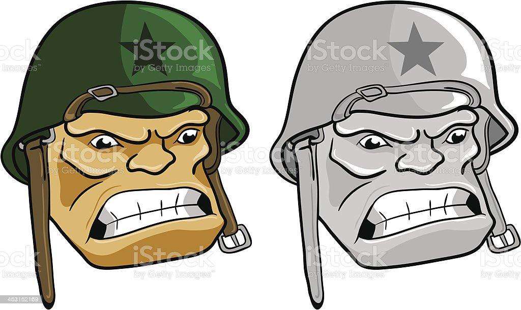 Army Man royalty-free stock vector art