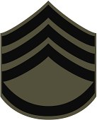 illustration of the patch found on a soldiers sleeve