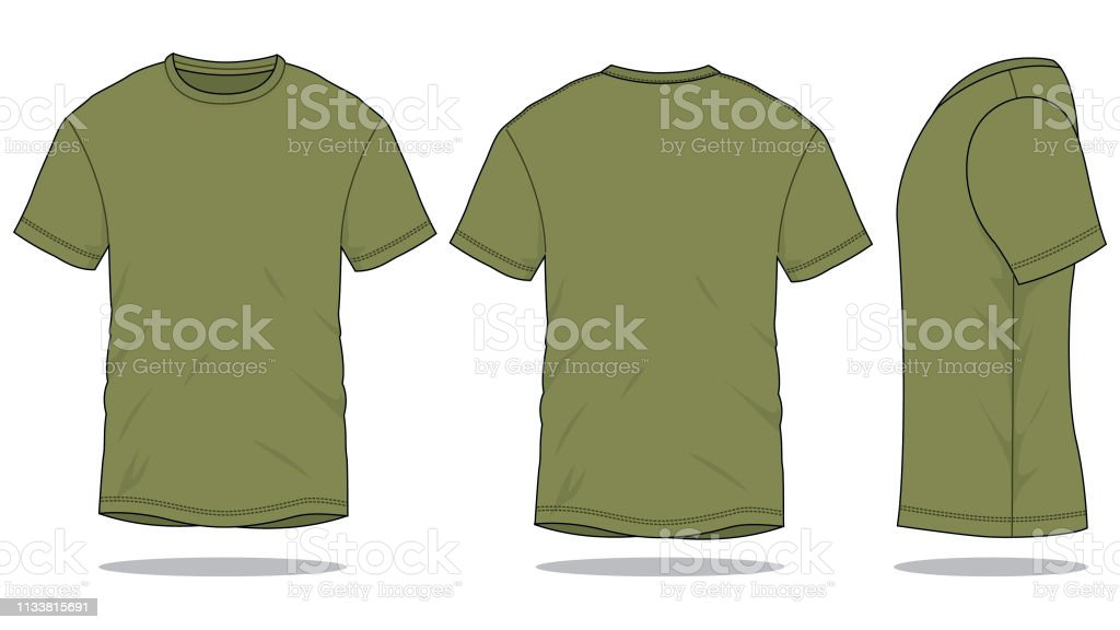 Army T-Shirt Vector for Template royalty-free army tshirt vector for template stock illustration - download image now
