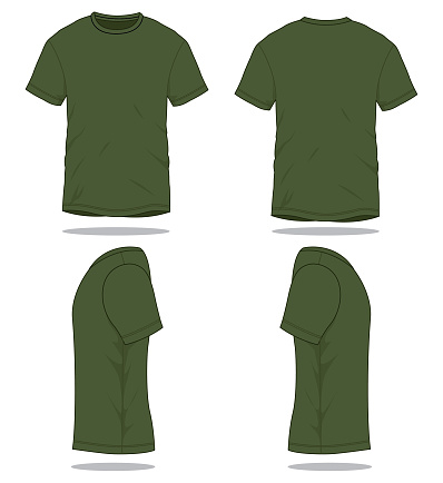 Army T-Shirt Vector for Template